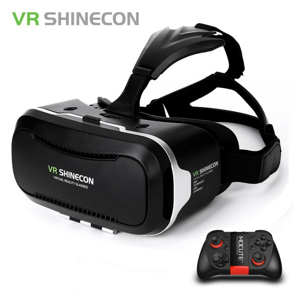 Original Vr Shinecon 2 0 Google Cardboard Virtual Reality Smartphone Goggles Vr Glasses Headset With Mocute Bluetooth Gamepad Online Store